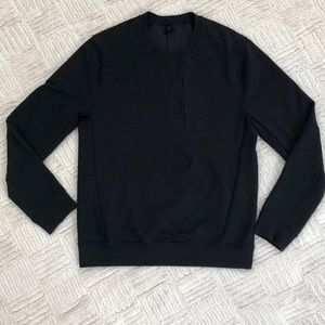 Lululemon City Sweat Crew Black Size Small